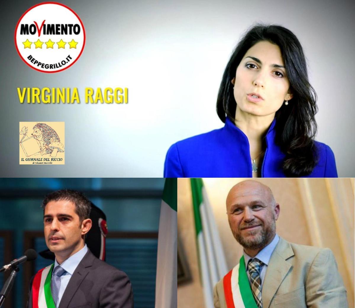 AMMINISTRATIVE DI ROMA 2016 - La provenienza politica di Virginia Raggi e le espulsioni del M5S.