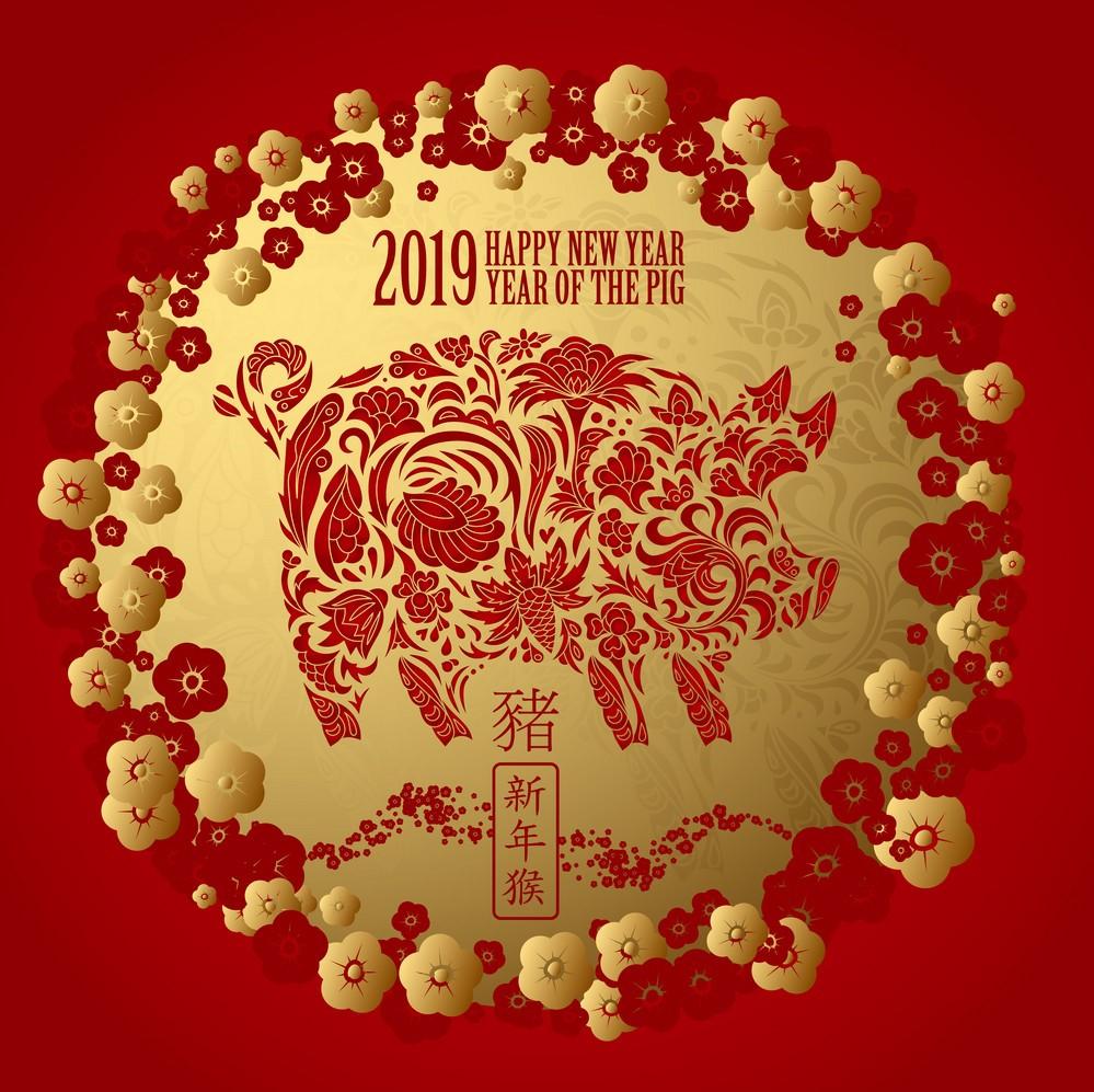 Oroscopo Cinese Maiale 2019 capodanno cinese 2019, anno del maiale di terra. tutte le