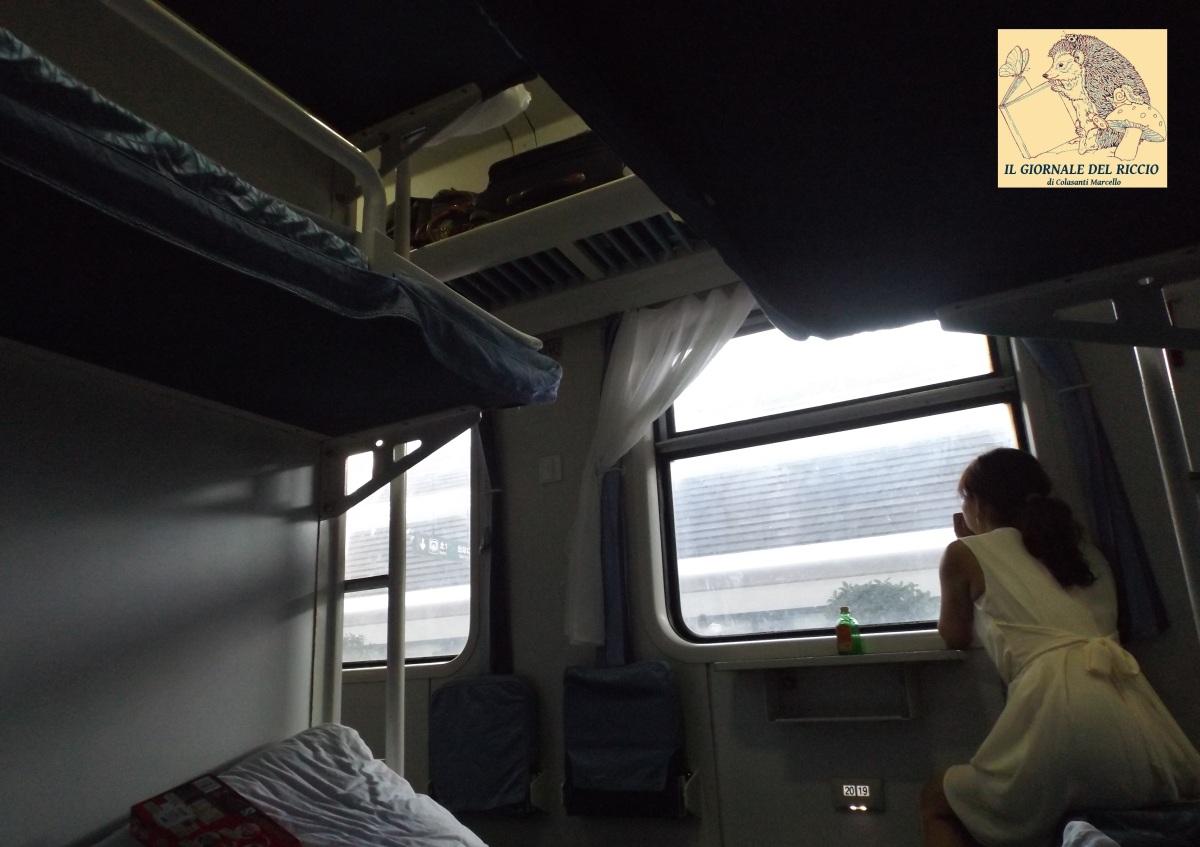 Stazione di Pechino Ovest: espressioni universali di un viaggio in treno. - Diario di viaggio.