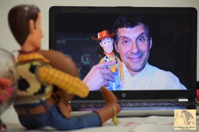 Fabrizio Frizzi e Woody
